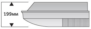 Ультратонкий корпус модели